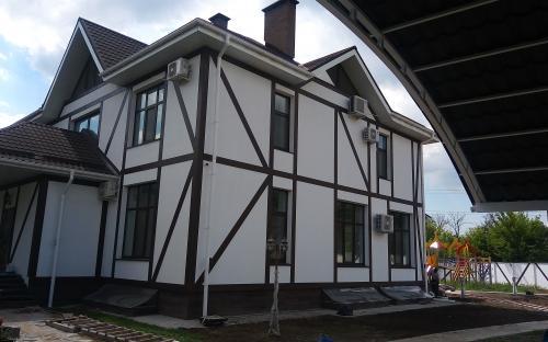 Отделка фасада элементами декора от 150руб/м.п.
